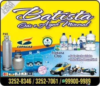 BATISTA / DISK ÁGUA MINERAL E GÁS / FONTANA ORO