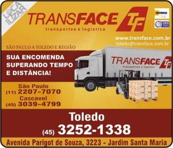TRANS FACE TRANSPORTE DE CARGAS E ENCOMENDAS TRANSPORTADORA