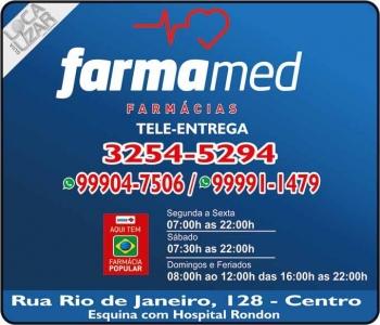 FARMAMED FARMÁCIA MEDICAMENTOS E PERFUMARIAS / DISK REMÉDIOS