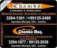 CHAMBÓ LIVRARIA E PAPELARIA