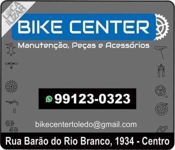 BIKE CENTER BICICLETARIA / PEÇAS / ACESSÓRIOS / MANUTENÇÃO EM TOLEDO PR