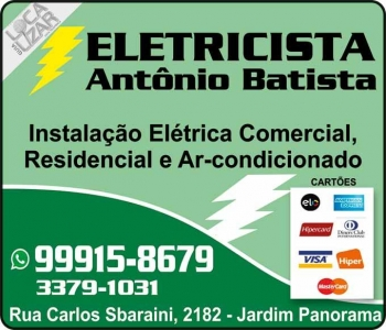 ANTONIO BATISTA ELETRICISTA