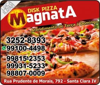 MAGNATA PIZZARIA / DISK PIZZA