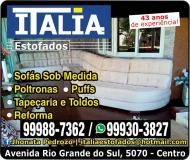 ITÁLIA ESTOFADOS / TAPEÇARIA TOLDOS