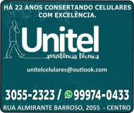 UNITEL CONSERTOS DE CELULARES E ASSISTÊNCIA TÉCNICA