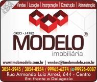 MODELO IMOBILIÁRIA / CORRETORA DE IMÓVEIS