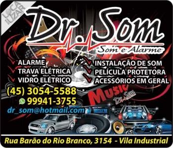 DR. SOM AUTOSSOM ALARMES E SOM AUTOMOTIVO (DOUTOR SOM)