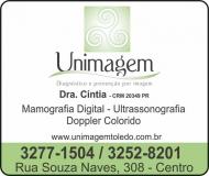 UNIMAGEM CLÍNICA DE IMAGEM / RADIOLOGIA / MAMOGRAFIA DIGITAL