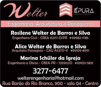 WELTER ENGENHARIA ARQUITETURA E PAISAGISMO