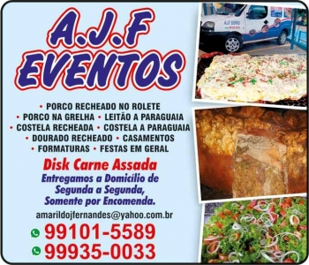 AJF EVENTOS BUFFET / CARNE ASSADA
