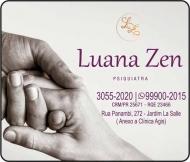 CLÍNICA DE PSIQUIATRIA LUANA ZEN / PSIQUIATRA / ESQUIZOFRENIA