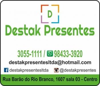 DESTAK PRESENTES / DECORAÇÕES