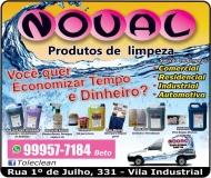 NOVAL PRODUTOS DE LIMPEZA BETO