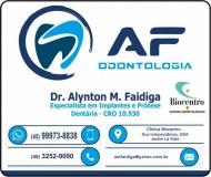 CIRURGIÃO DENTISTA ALYNTON M FAIDIGA / ORTODONTISTA / AF ODONTOLOGIA