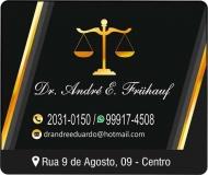 ANDRE E. FRUHAUF DR. ADVOCACIA