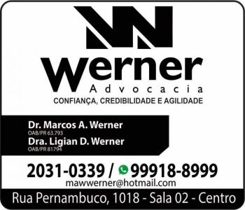 ADVOCACIA MARCOS A. WERNER / DIREITO TRABALHISTA E PREVIDENCIÁRIO / WERNER