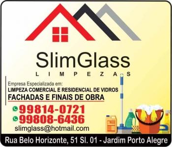 SLIMGLASS LIMPEZA DE VIDROS / FACHADAS / FINAIS DE OBRAS