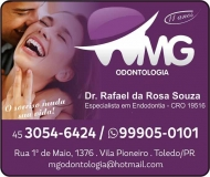 CIRURGIÃO DENTISTA RAFAEL DA ROSA SOUZA / ENDODONTISTA / MG