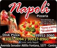 NAPOLI PIZZARIA DISK PIZZA