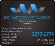 CIRURGIÃO DENTISTA MARCOS VINICIUS TAMURA CAMPOS / DISTÚRBIOS DO SONO