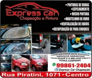 EXPRESS CAR CHAPEAÇÃO E PINTURA AUTOMOTIVA