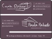 Cartão: CAMILA ROSSONI / PAULA PALUDO / ARQUITETURA E ENGENHARIA CIVIL