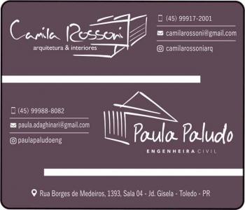 CAMILA ROSSONI / PAULA PALUDO / ARQUITETURA E ENGENHARIA CIVIL