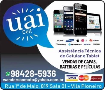 UAI CELL ASSISTÊNCIA TÉCNICA DE CELULARES / TABLET / ACESSÓRIOS