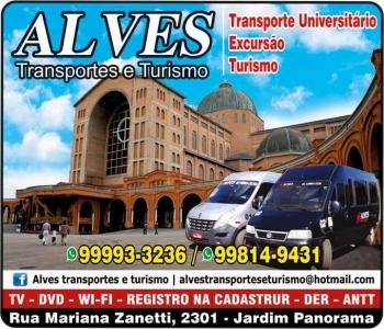 ALVES TRANSPORTE UNIVERSITÁRIO E TURISMO
