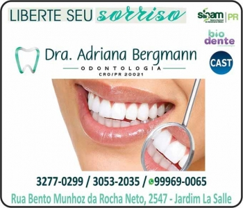 CIRURGIÃO DENTISTA ADRIANA BERGMANN / ENDODONTISTA / BIODENTE