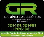 GR ALUMÍNIO / ACESSÓRIOS PARA VIDROS