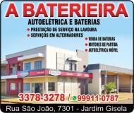 A BATERIEIRA AUTOELÉTRICA E BATERIAS
