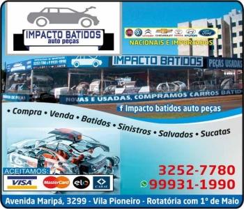 IMPACTO BATIDOS AUTOPEÇAS / PEÇAS USADAS