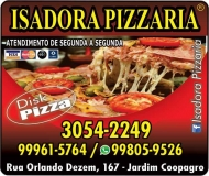 ISADORA PIZZARIA / DISK PIZZA