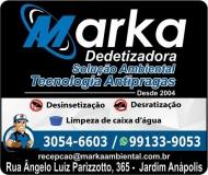 MARKA DEDETIZADORA TECNOLOGIA ANTIPRAGAS
