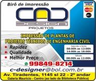 PLOTAGEM / CAD DESIGN BIRÔ DE IMPRESSÃO DE PLANTAS / PROJETOS EM TOLEDO PR