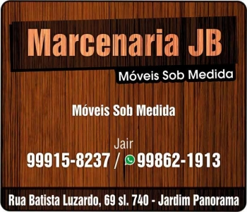 JB MARCENARIA MÓVEIS PLANEJADOS SOB MEDIDA