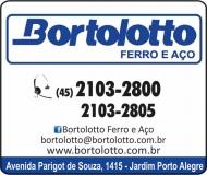 BORTOLOTTO DISTRIBUIDORA DE FERRO / AÇO