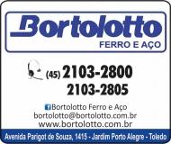 BORTOLOTTO DISTRIBUIDORA DE FERRO E AÇO