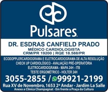 CLÍNICA DE CARDIOLOGIA ESDRAS CANFIELD PRADO / CARDIOLOGISTA / PULSARES