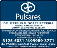 CLÍNICA DE CARDIOLOGIA MATEUS D. SCAFF PEREIRA / CARDIOLOGISTA / PULSARES