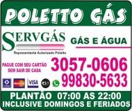 POLETTO GÁS / DISK GÁS E ÁGUA MINERAL / SERVGÁS