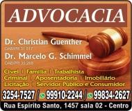ADVOCACIA MARCELO G. SCHIMMEL / DIREITO TRABALHISTA E PREVIDENCIÁRIO / GUENTHER E SCHIMMEL