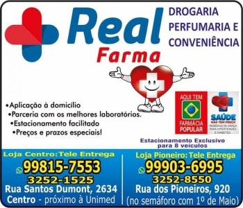 REAL FARMA FARMÁCIA MEDICAMENTOS E PERFUMARIAS / DISK REMÉDIOS