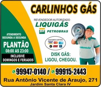 CARLINHOS GÁS / DISK GÁS / LIQUIGÁS
