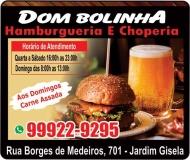 DOM BOLINHA HAMBURGUERIA / CHOPERIA