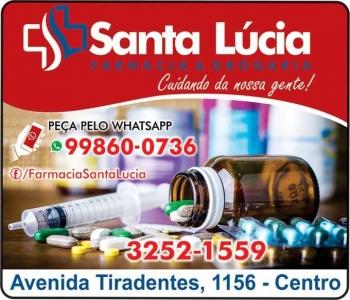 SANTA LÚCIA FARMÁCIA MEDICAMENTOS E PERFUMARIAS / DISK REMÉDIOS