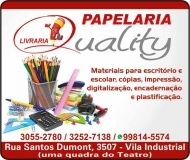 QUALITY LIVRARIA E PAPELARIA