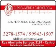 CLÍNICA DE CARDIOLOGIA FERNANDO LUIZ DALL'OGLIO / CARDIOLOGISTA