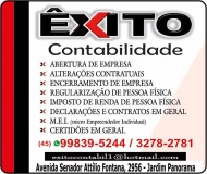 ÊXITO CONTABILIDADE ESCRITÓRIO CONTÁBIL